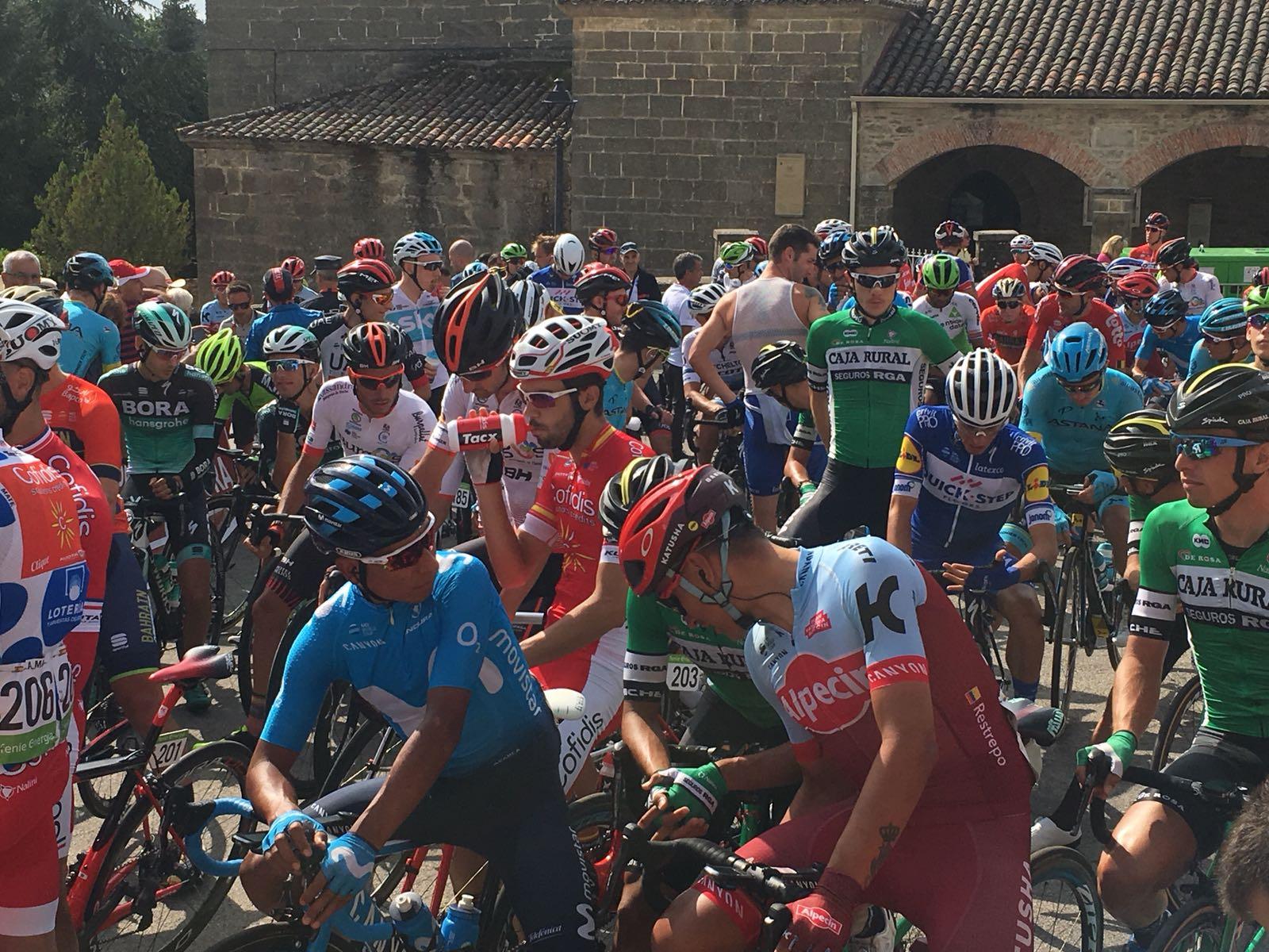 Reciclaje, en La Vuelta