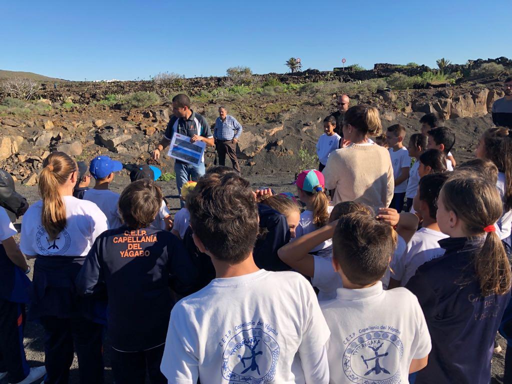 escolares de Lanzarote